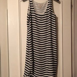 Loft dress sleeveless size Large